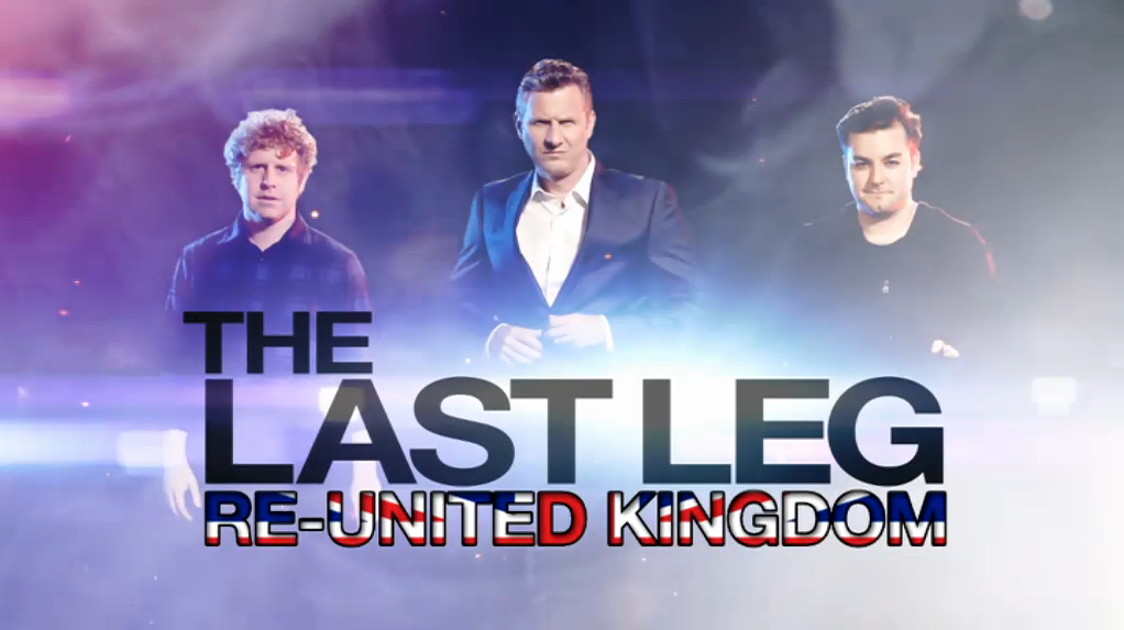 RML Lights The Last Leg: Re-United Kingdom